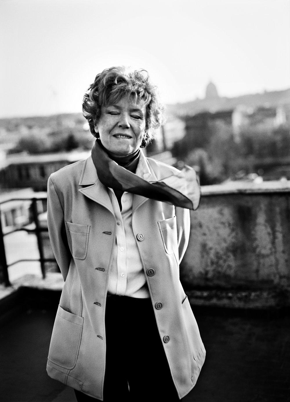 Dacia Maraini, Italian writer 1997
