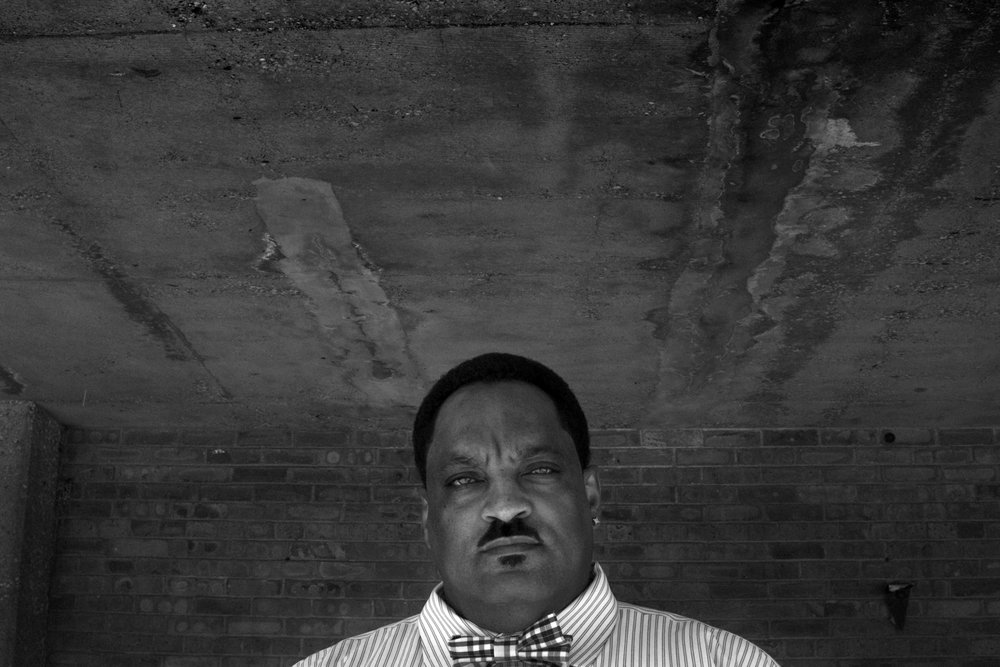 Former gang leader and drug kingpin Noonie Ward as photographed at his former stalking grounds in the Altgeld Gardens Public Housing Developments on Chicago's Far South Side.
