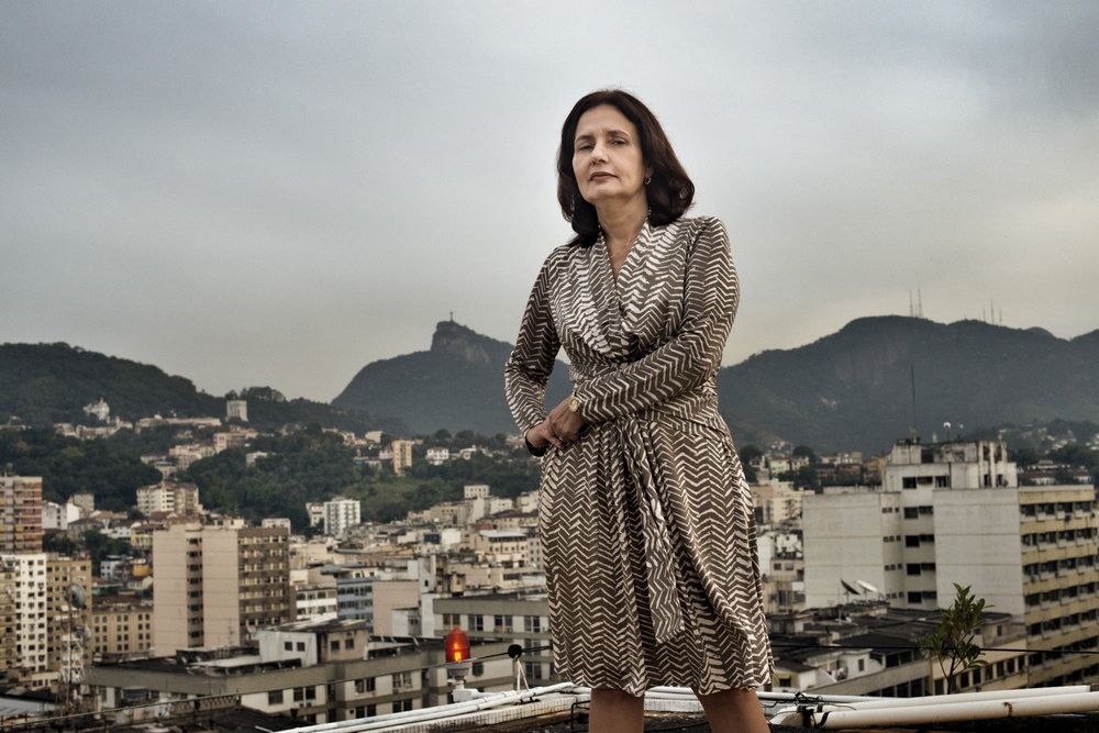 Martha Mesquita da Rocha is the Chief of Civil Police for the entire state of Rio de Janeiro. She commands over 12,000 male and female officers and is the first woman to be the chief of police in Brazil.