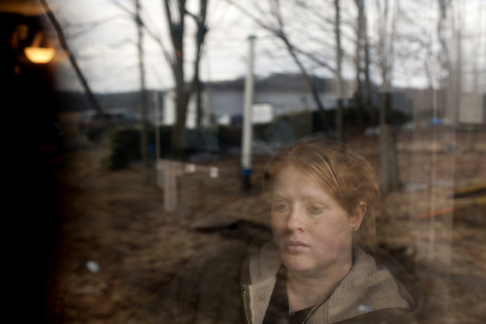 Tamara Horn whose water was contaminated during Cabot drilling andf fracking activity in Dimock.