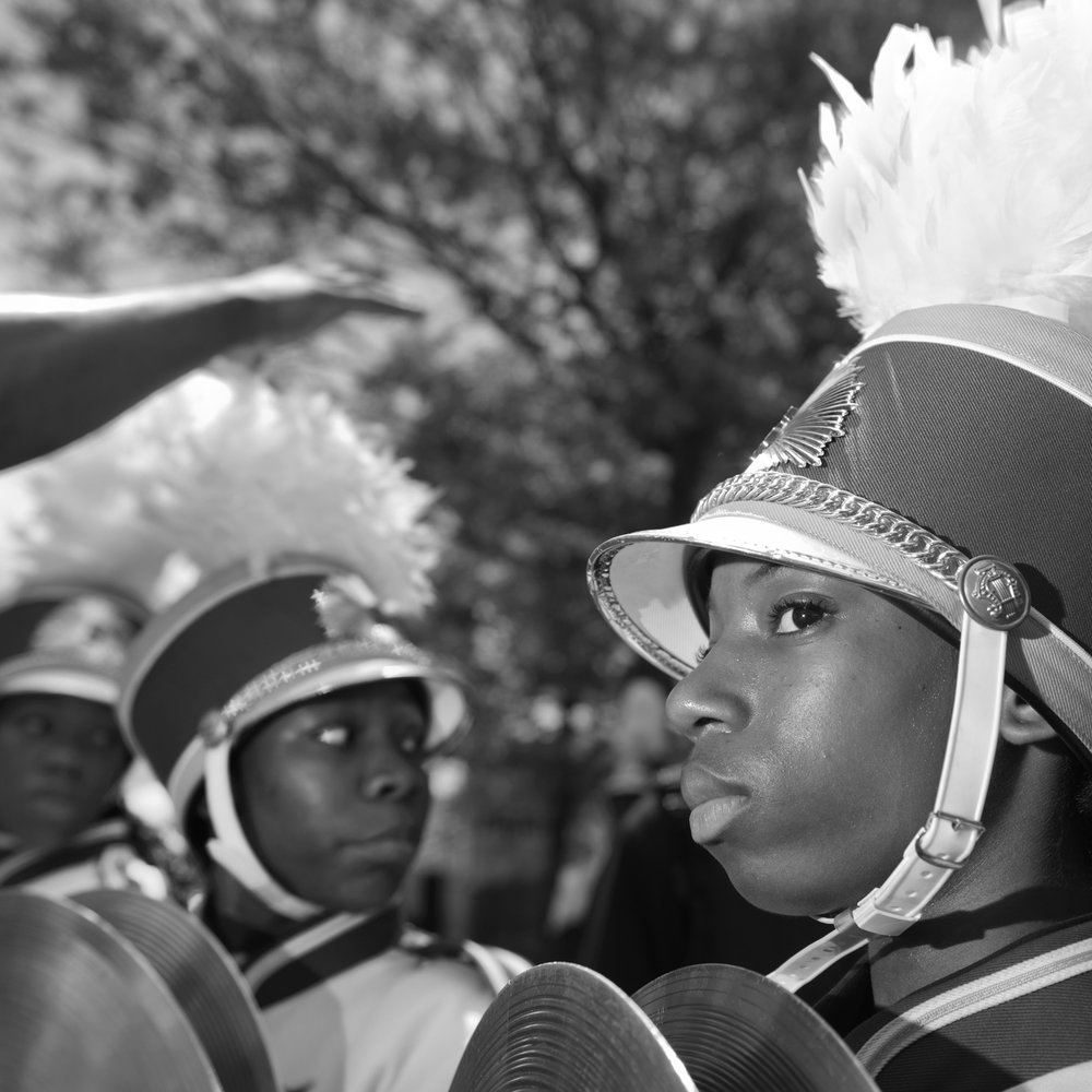 The Brooklyn Steppers at a Battle of the Bands in Ft. Greene, Brooklyn,  New York