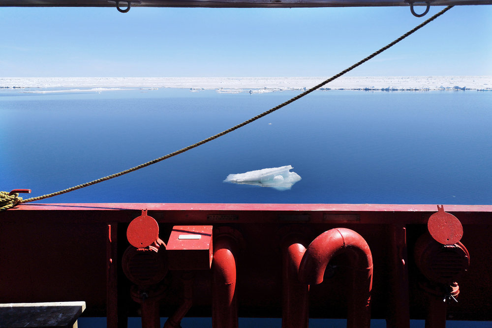 Canada, Nunavut, Kangiqsualuk Ilua (Hudson Bay), June 2018Aboard the Amundsen, which is an icebreaker from the Canadian coastguard, which is also partly has been converted to a science lab. An international team of scientists specialised in sea ice, glaciers, biologists etc are on a expedition on the Hudson Bay and among others research the effect of the melting sea ice.Kadir van Lohuizen / NOOR for Carmignac Fondation