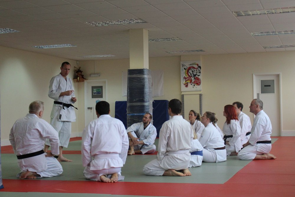 Joost teaching in Eastbourne (2017)