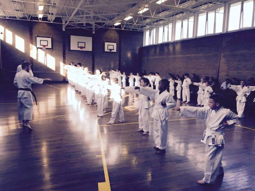 Sensei Patrick Visnovsky Sports Kumite Class Koryukan London