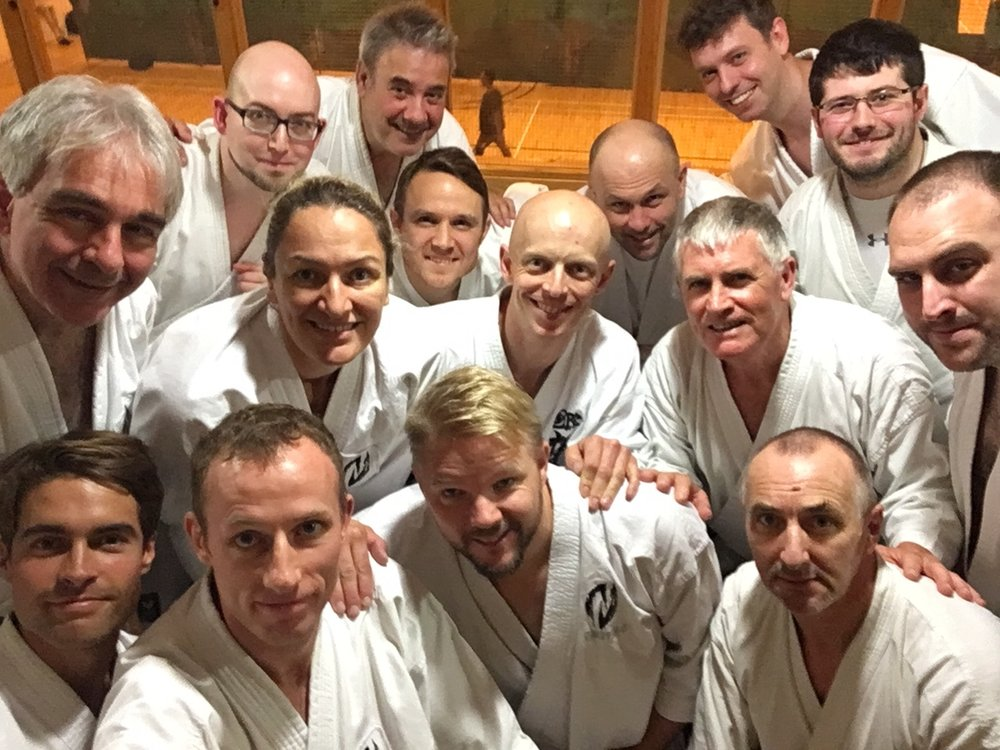 Bunkai Practices with Kyoshi Ante Brännbacka (Aragaki Sochin)