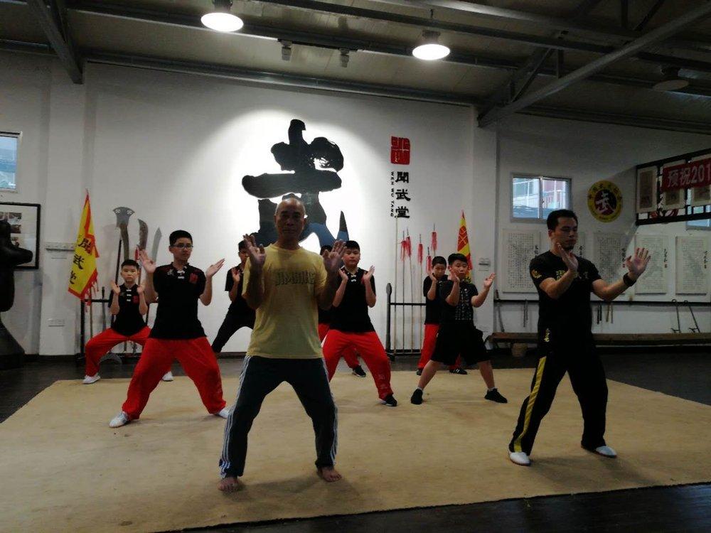 Koryukan London Spring Camp 2019, Fuzhou, China