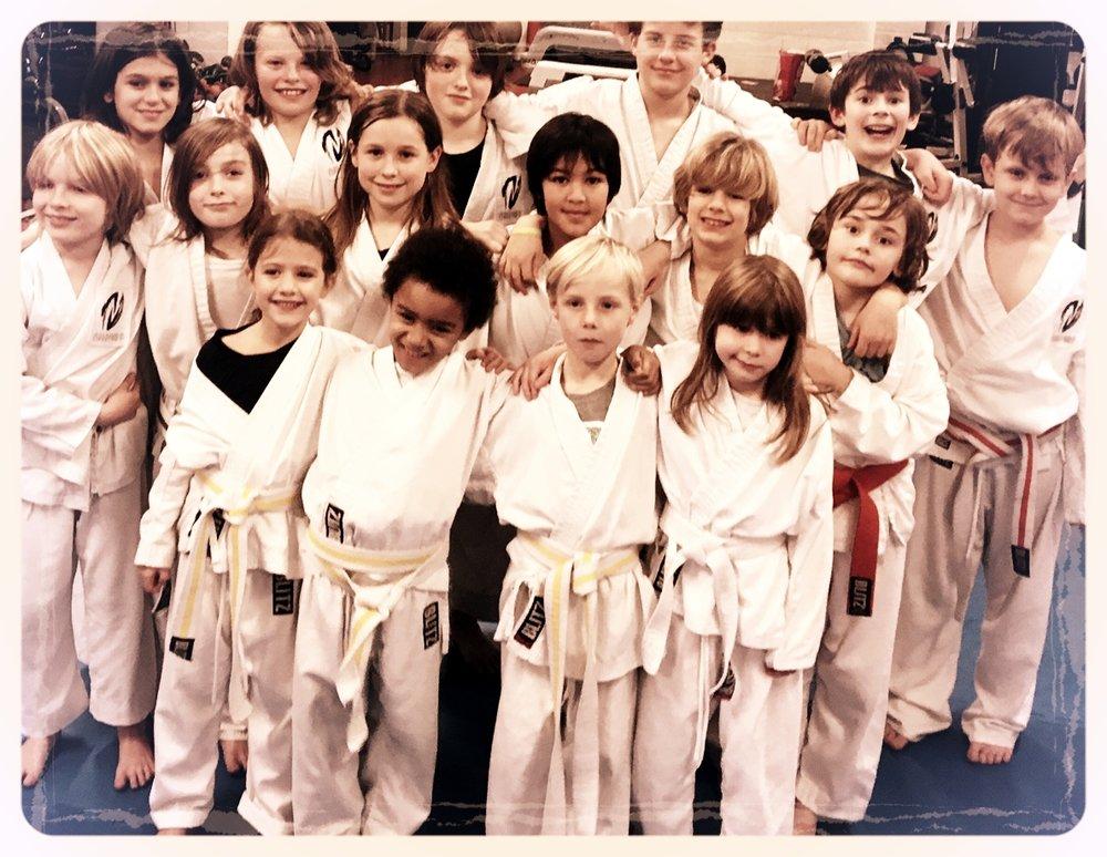 Kids Autumn Term Grading at Koryukan London