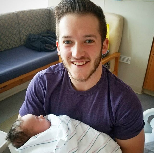 I'm an uncle for the 4th time! Welcome to the world Tobias Kenneth Olsen!
