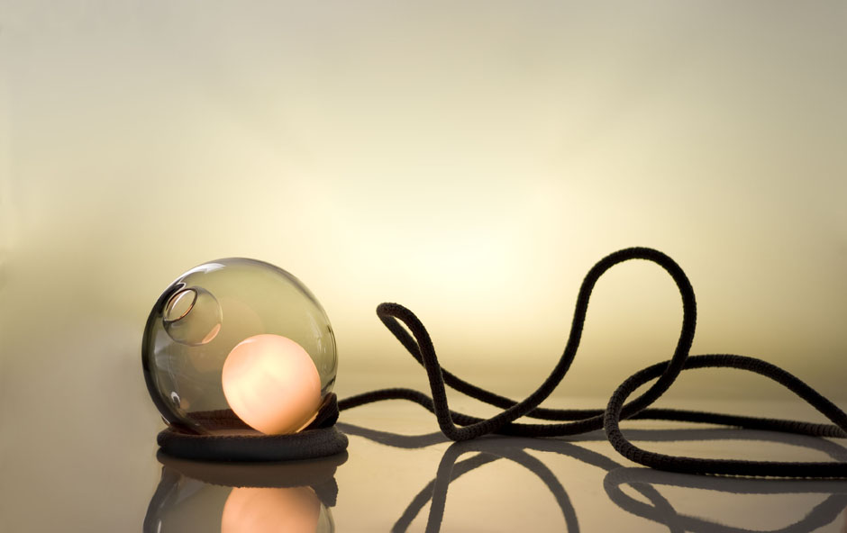 28 Chandelier and desktop lamp - Bocci 2013