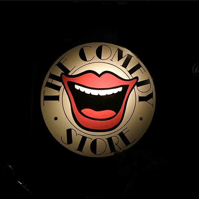 This is happening! Having fun tonight :-). . . . . . #comedystorelondon #comedy #nightout #travelling