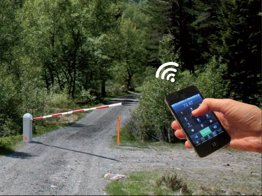 Adgangskontroll - Fra GSM styringer til kassakodesystemer for byggevarehus.