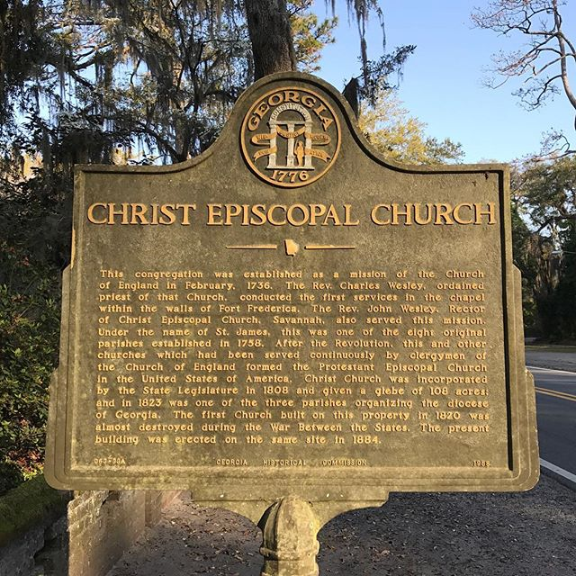 A historical treasure | Christ Church Frederica #seedsofgrowth