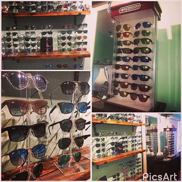 End of Summer Sunglasses Sale!!! 20% off all in stock plano Sunwear!!! All brands included!!! #rayban #costa