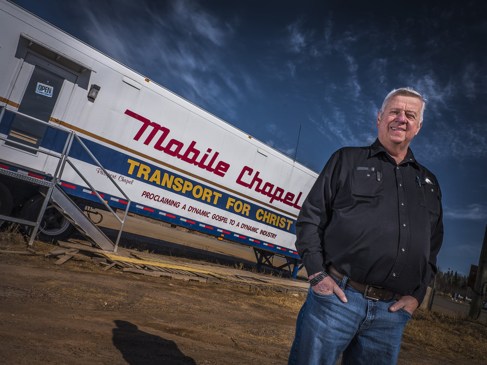 Sam McIntosh is pastor, friend and confidant to truckers on the road and looking for guidance