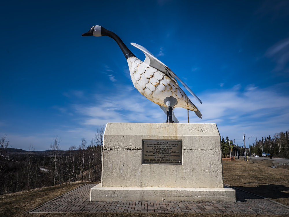 According to those in the know, this 28-foot tall goose in Wawa, Ontario is one of the most photographed attractions in Canada