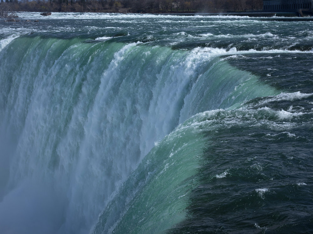 The roar of the Canadian, Horseshoe Falls in Niagara is mesmerizing!