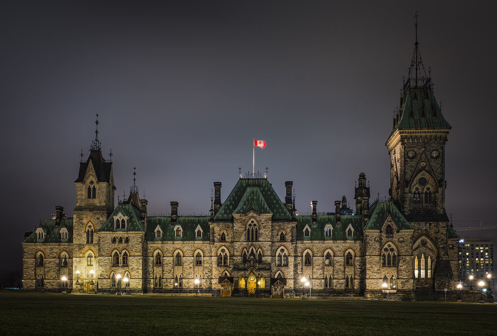 The East Block on Parliament Hill. A favourite building to shoot.