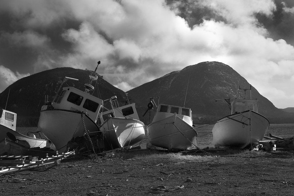 Still life with fishing boats!