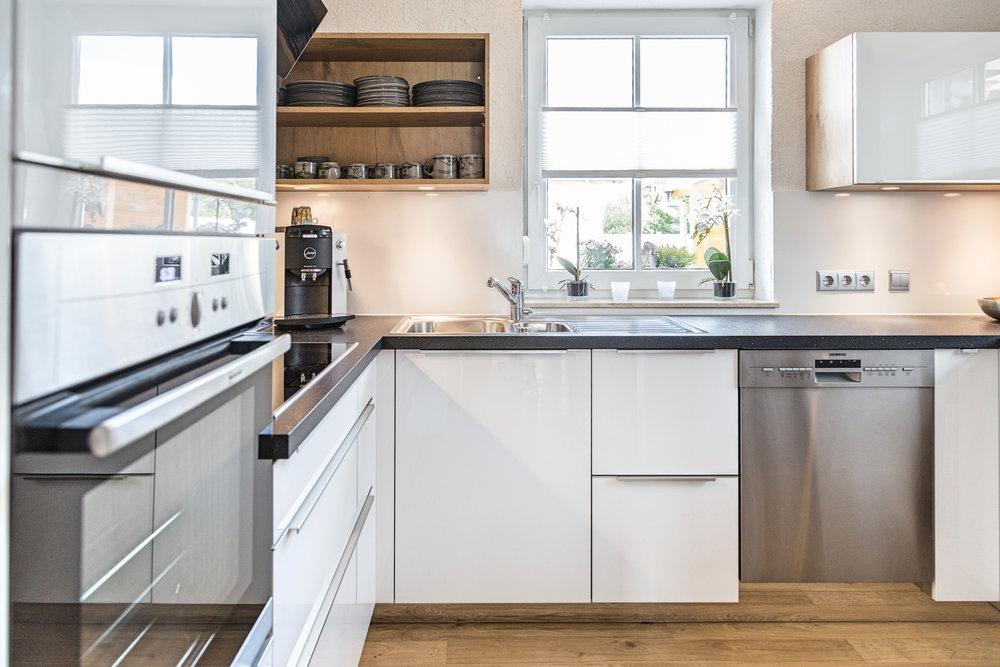 Küchengalerie - Überzeugen Sie sich selbst! Alle Küchen in unserer Galerie sind von uns geplante und eingebaute Stiehle Küchen.