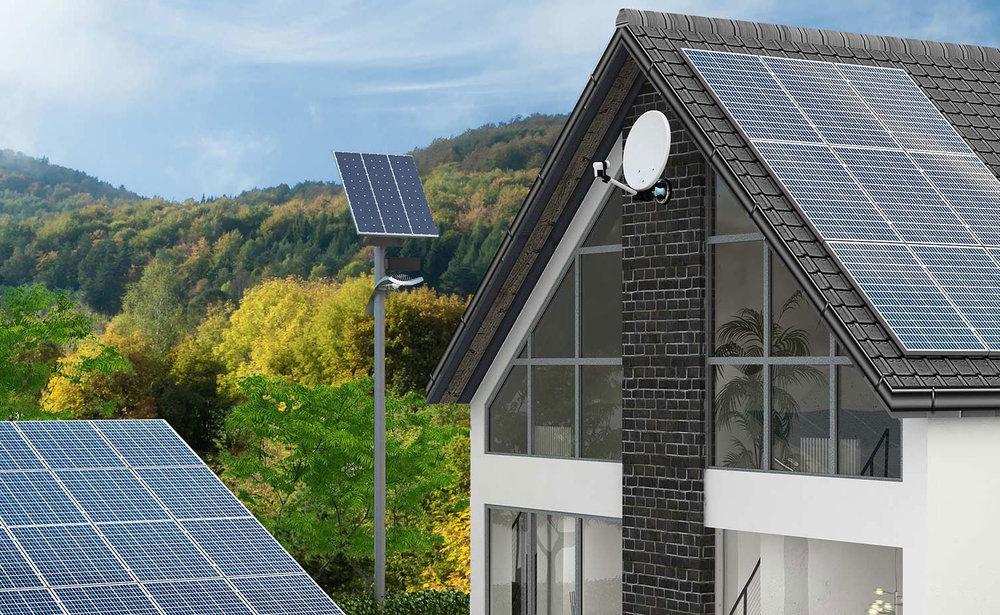 Das Heizsystem der Zukunft: Sunbrain - Eine Anlage für alles: Strom, Heizung und Brauchwasser. Sunbrain - Der Energiemanager.