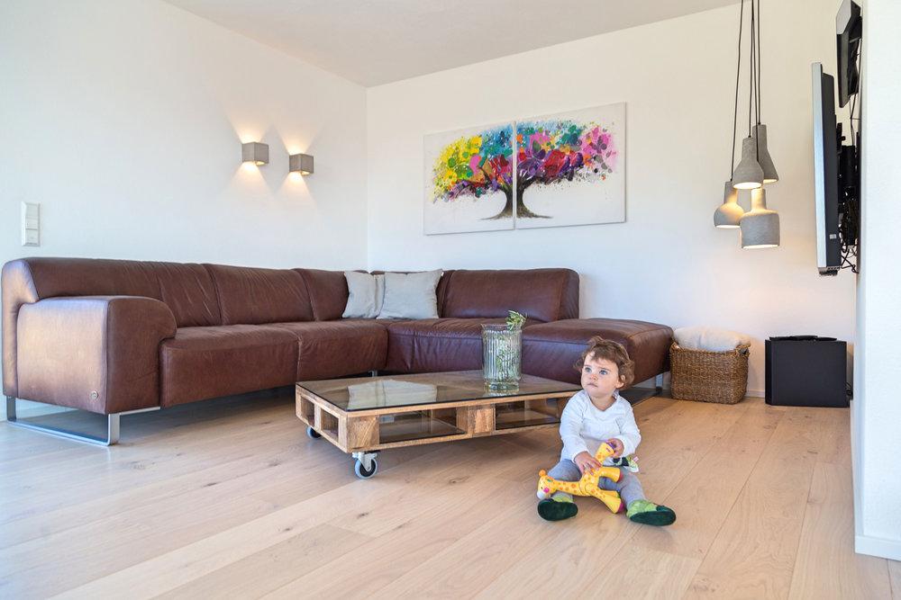 Stiehle Renovierung Wohnraum Licht