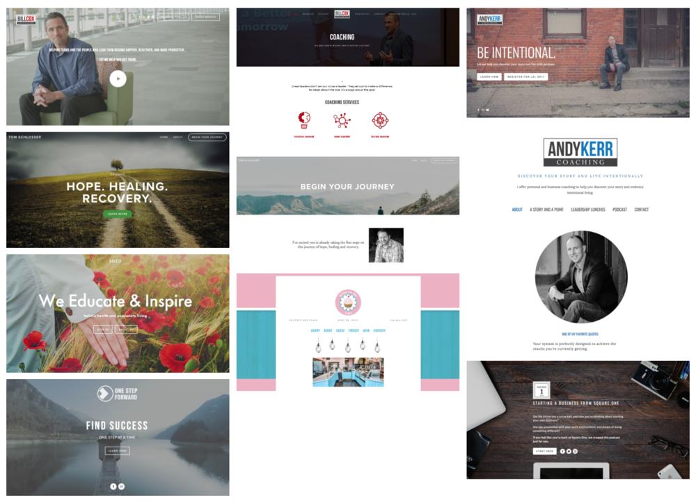 Website Design Gallery -