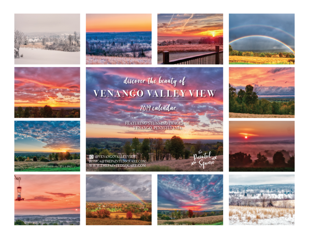 2019 Calendar Venango Valley View