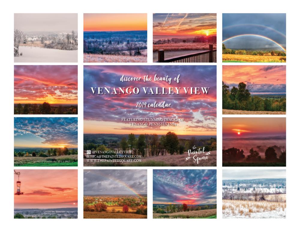 2019 Calendar Venango Valley View