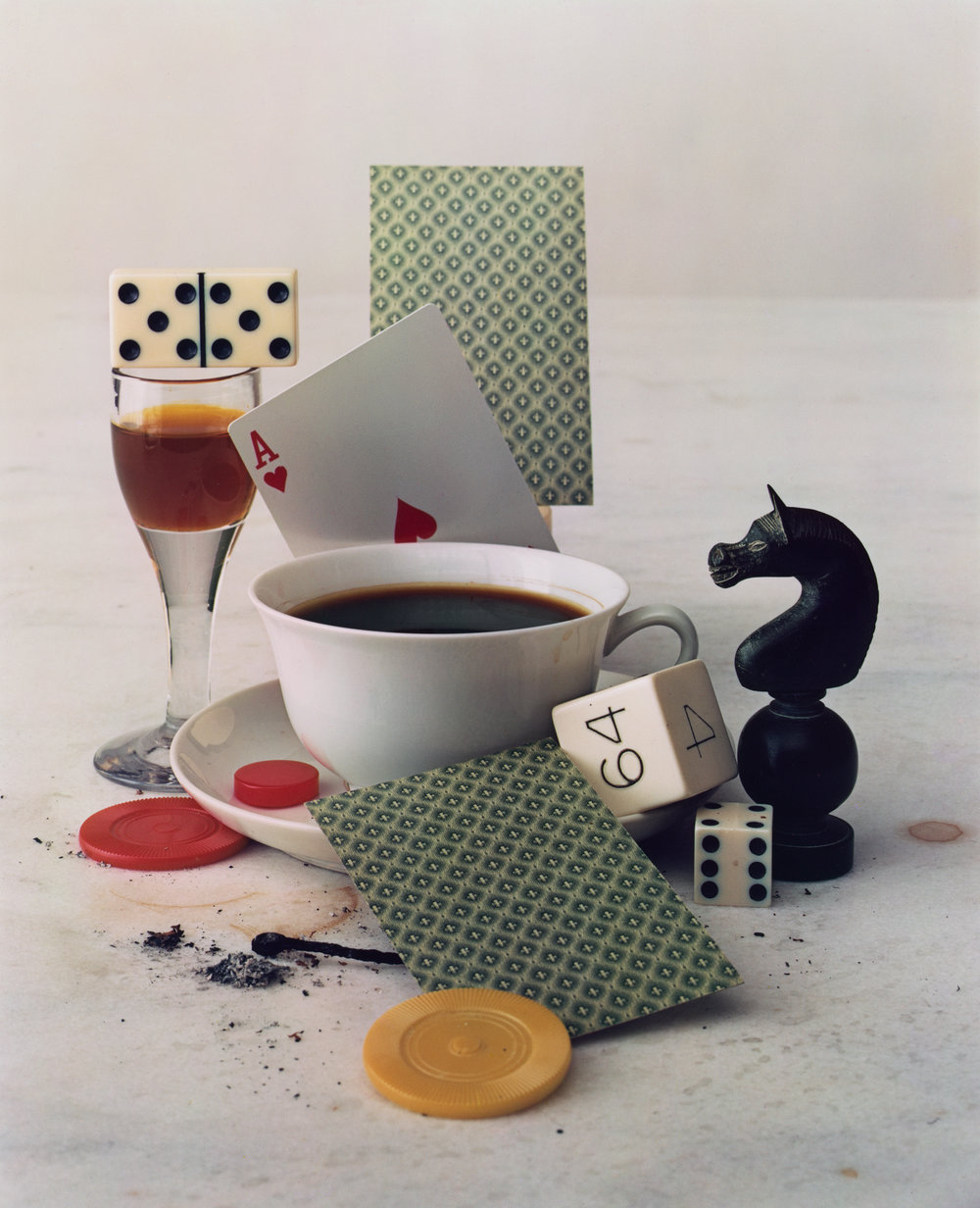 Irving Penn, After-Dinner Games, New York, 1947 © Condé Nast