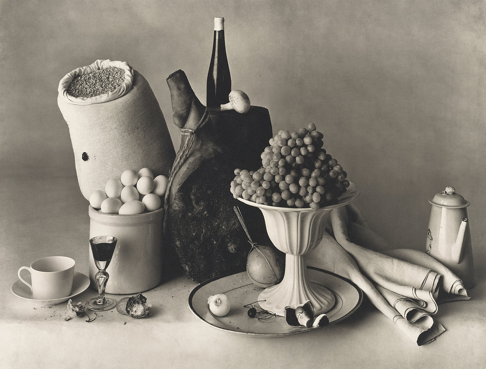 Irving Penn, New York Still Life, 1947. Platinum-palladium print. © Condé Nast