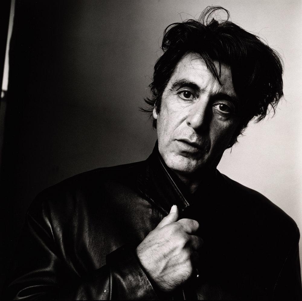 Al Pacino (A) , New York, 1995 Gelatin silver print © Condé Nast