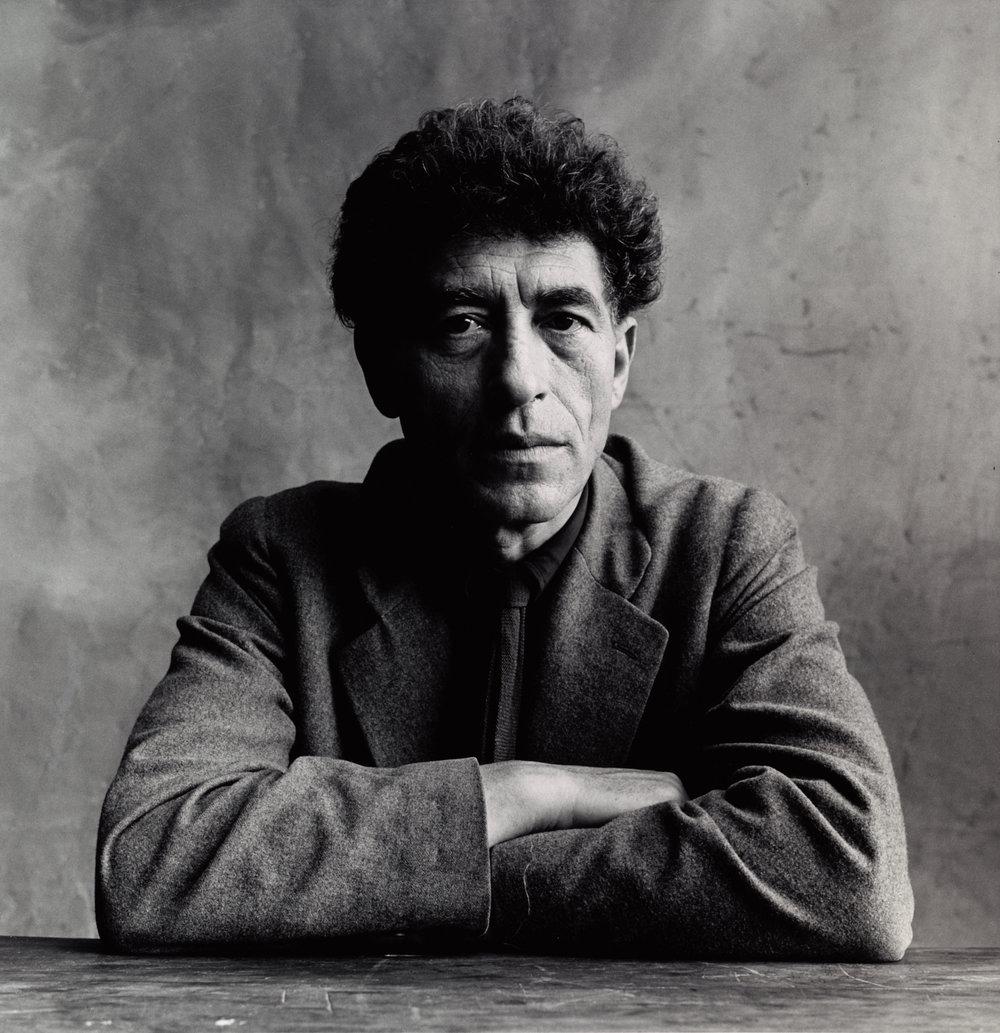 Alberto Giacometti , Paris, 1950 Gelatin silver print © Condé Nast