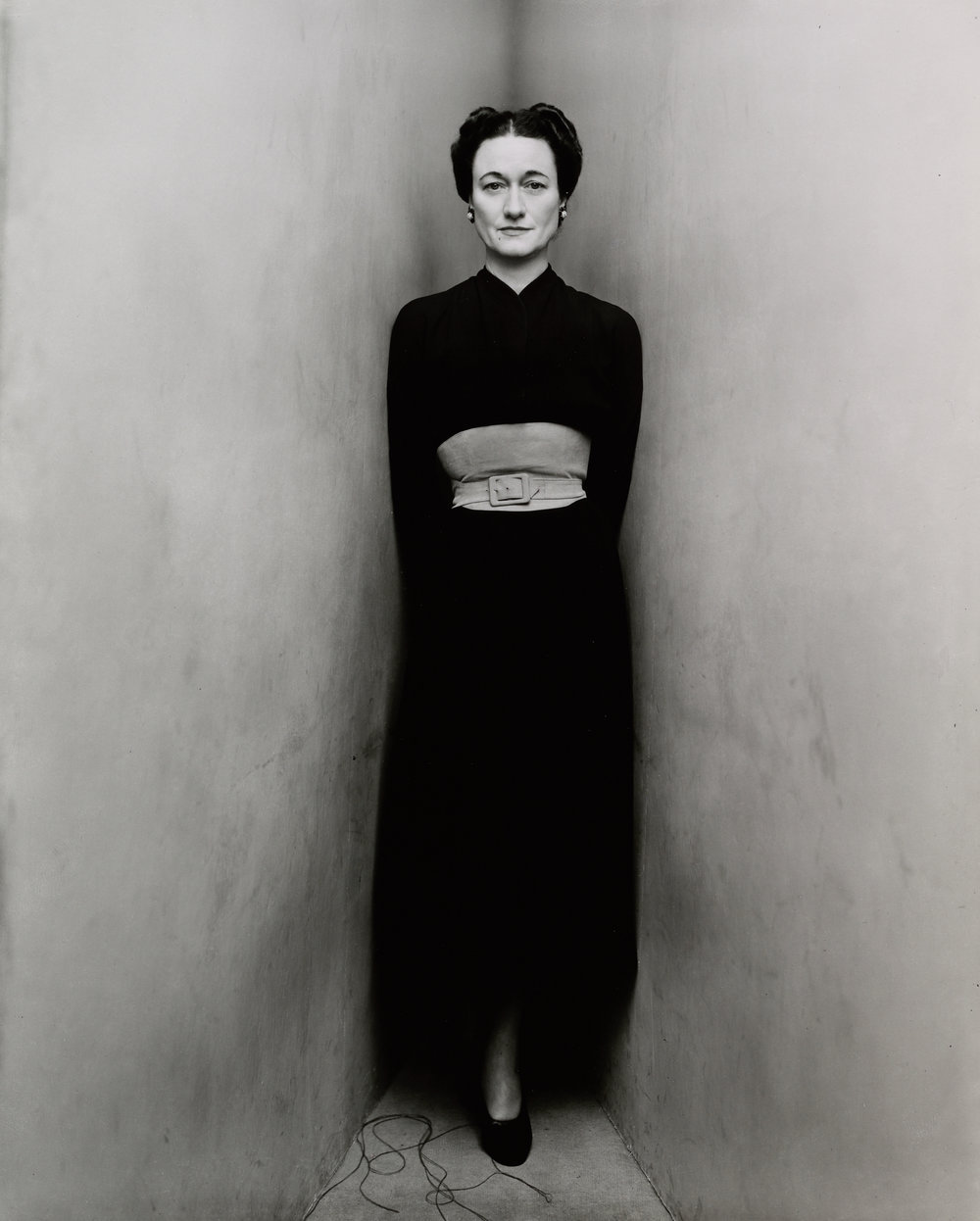 Duchess of Windsor (1 of 2) , New York, 1948 Gelatin silver print © The Irving Penn Foundation