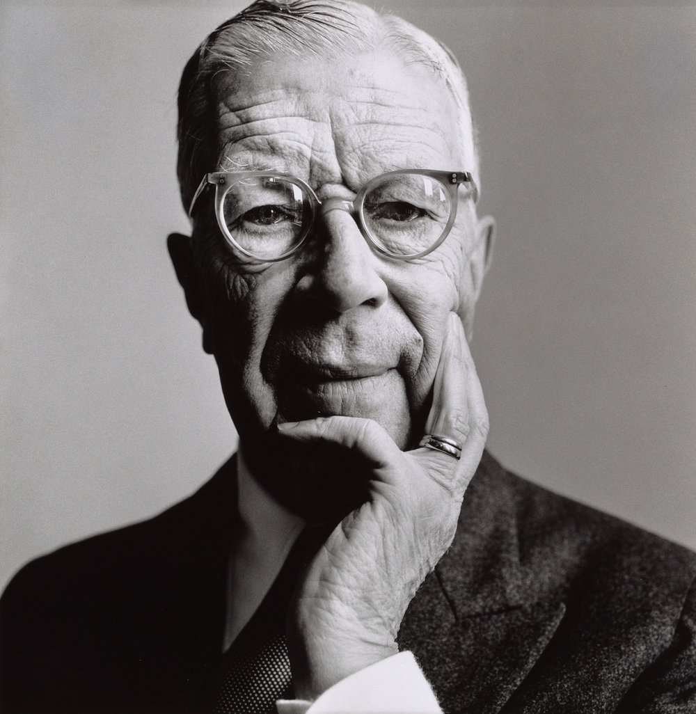King Gustav VI Adolf , Sweden, 1964 Gelatin silver print © The Irving Penn Foundation
