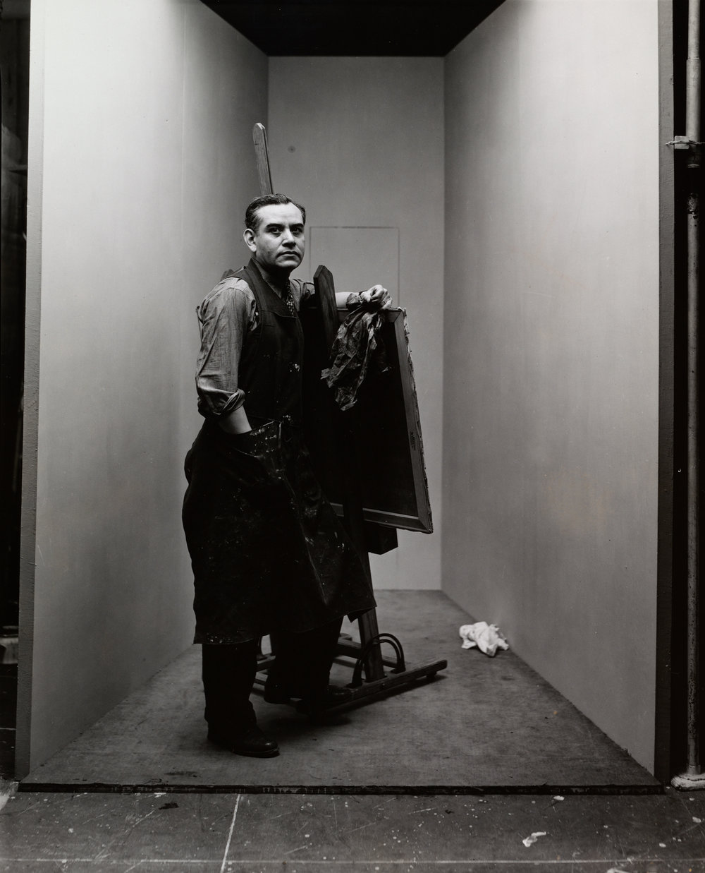 Rufino Tamayo (2 of 2) , New York, 1947 Gelatin silver print © The Irving Penn Foundation