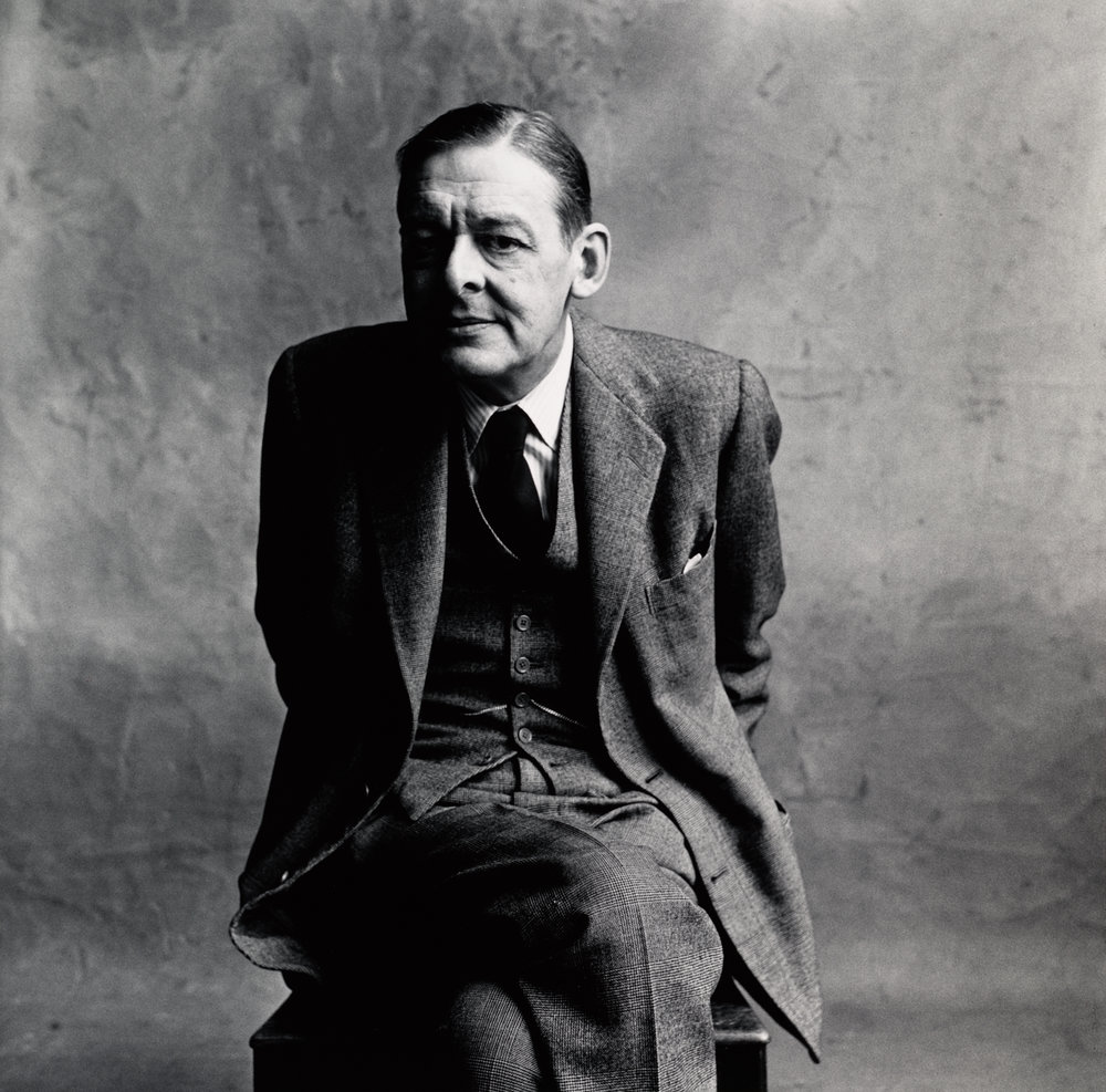 T.S. Eliot (A) , London, 1950 Gelatin silver print © The Irving Penn Foundation