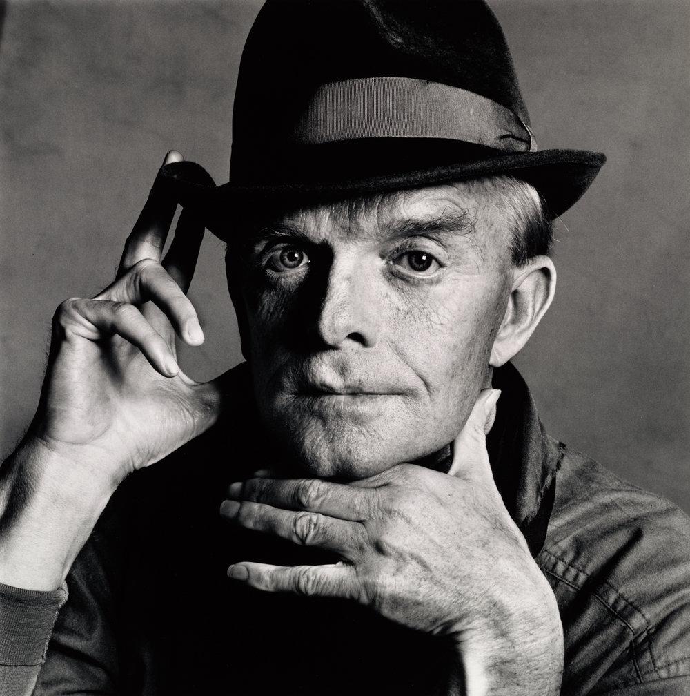 Truman Capote (1 of 3) , New York, 1979 Gelatin silver print © Condé Nast