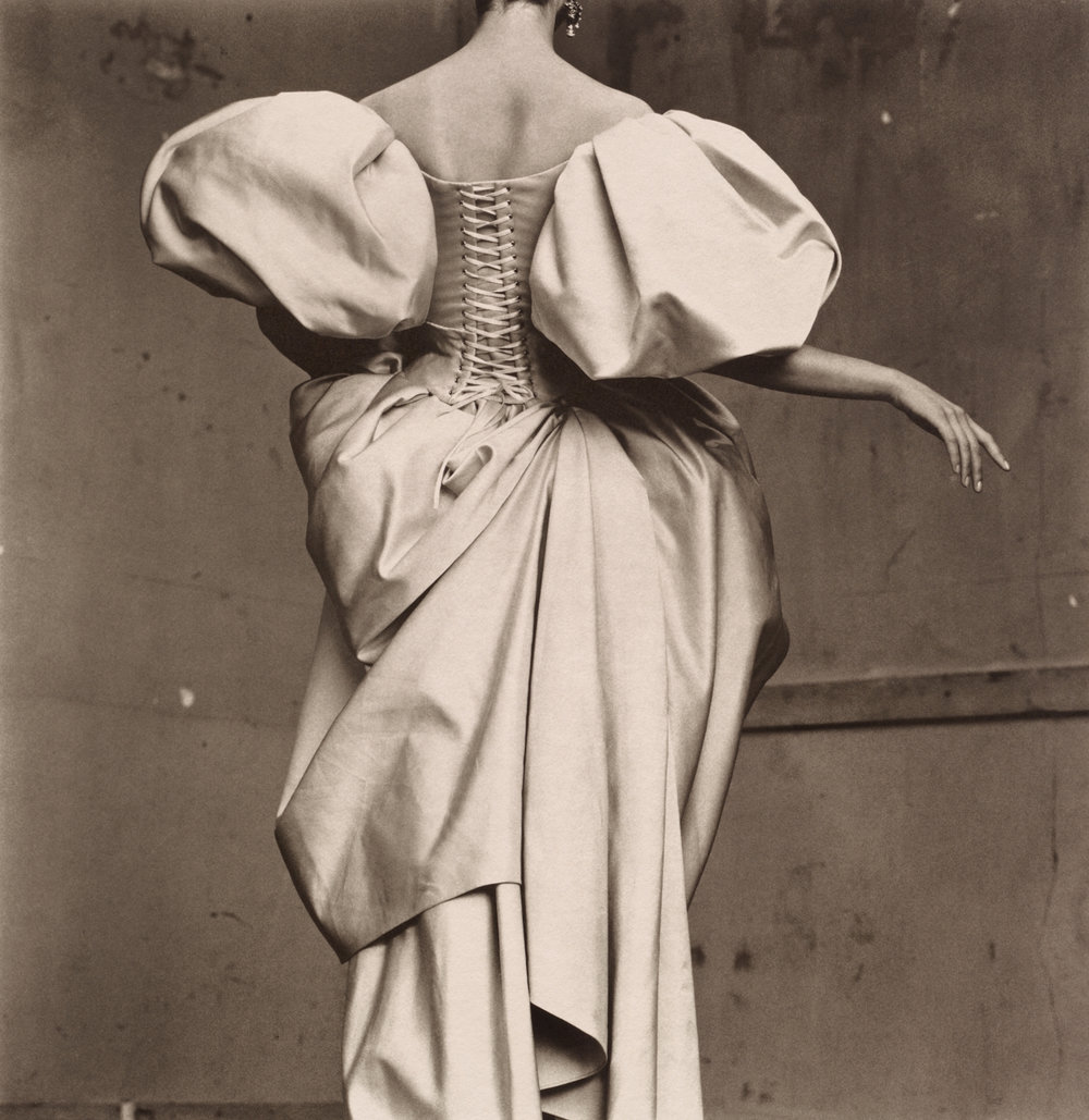 Christian Lacroix Duchesse Satin Dress , Paris, 1995 Platinum-palladium print © Condé Nast