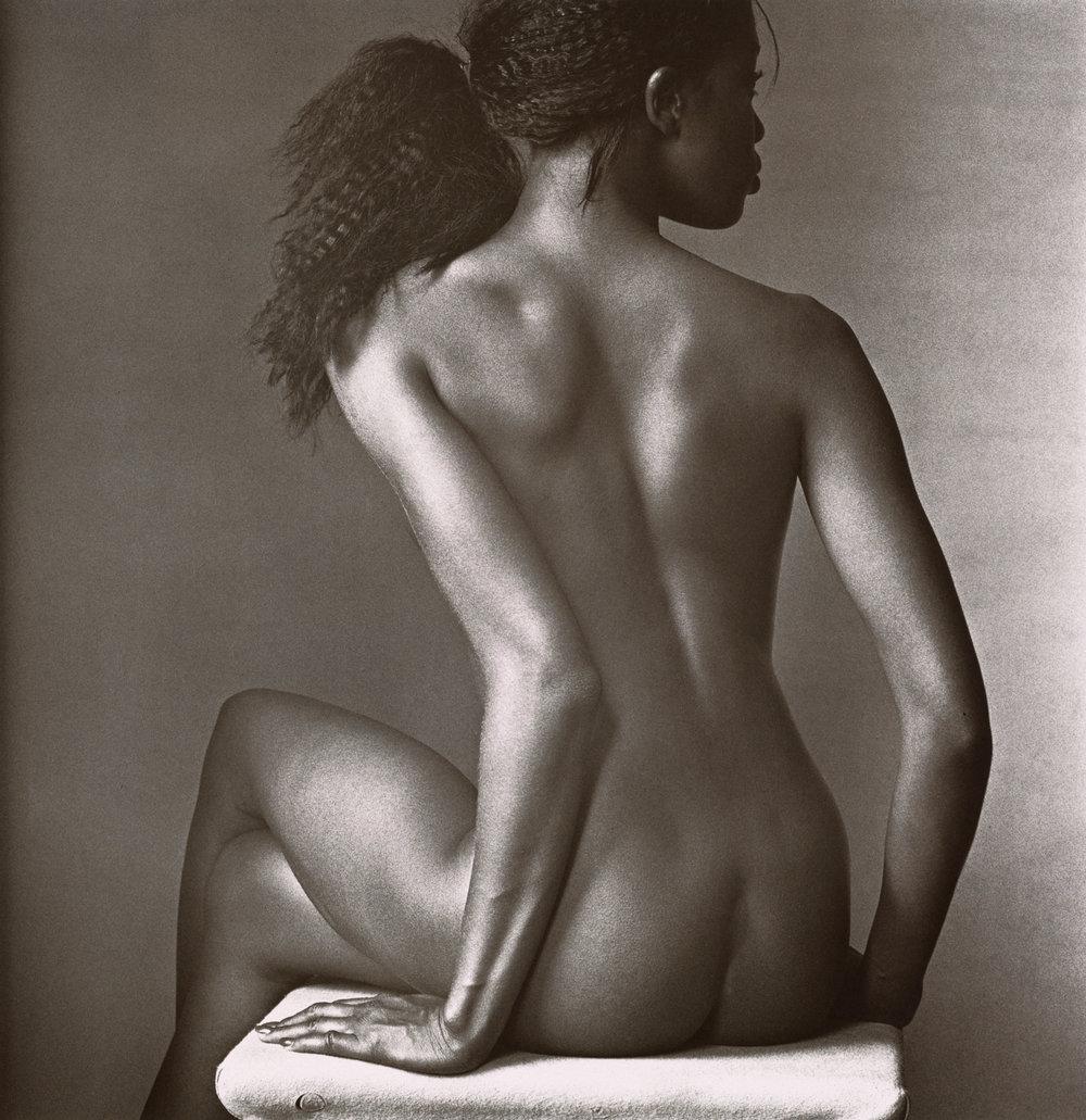 Naomi Campbell , New York, 1994 Platinum-palladium print © Condé Nast