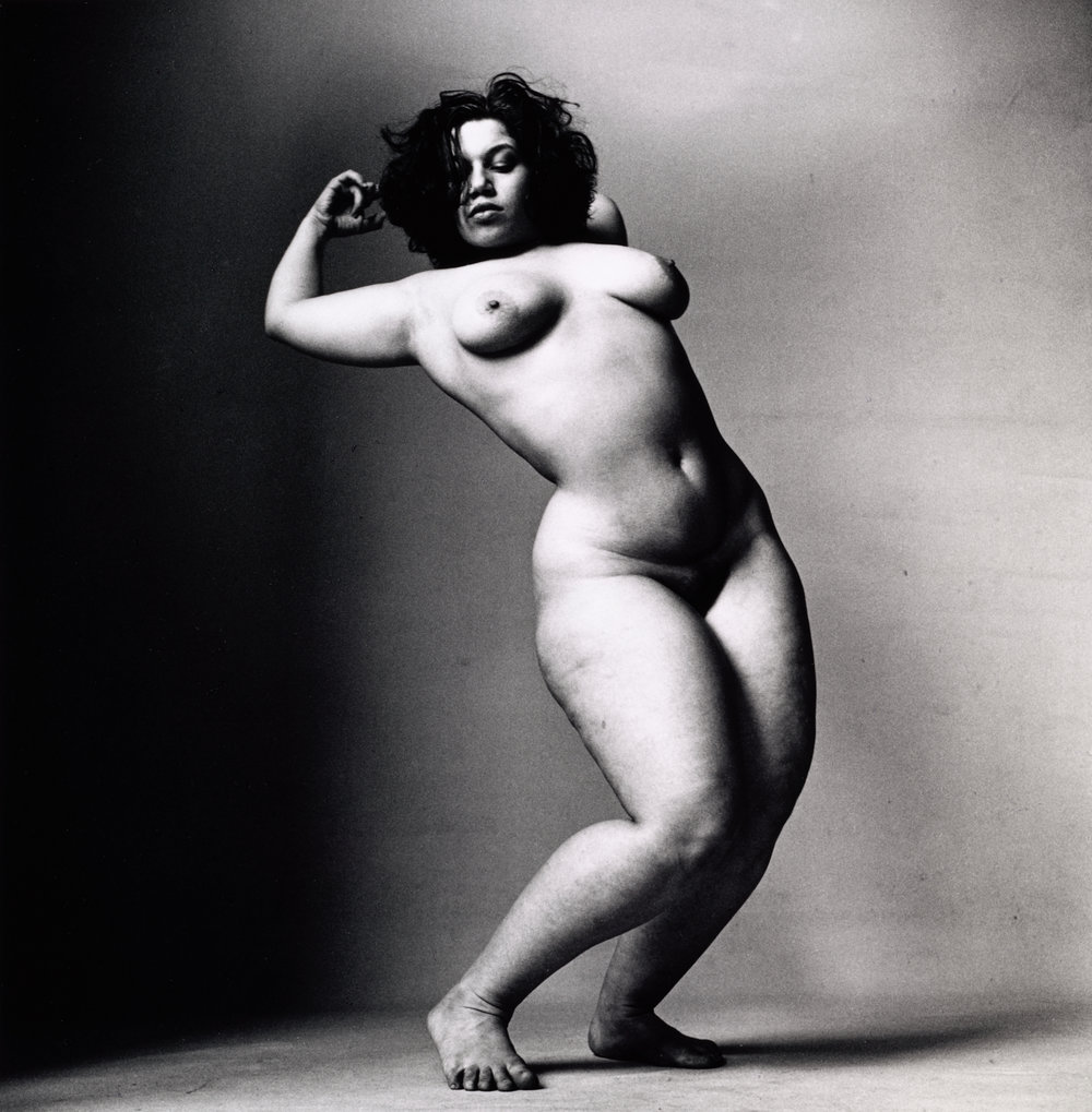 Alexandra Beller (B) , New York, 1999 Gelatin silver print © The Irving Penn Foundation