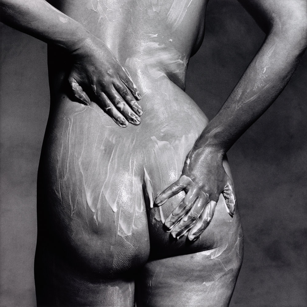 Soaping Rear (A) , New York, 1978 Gelatin silver print © The Irving Penn Foundation
