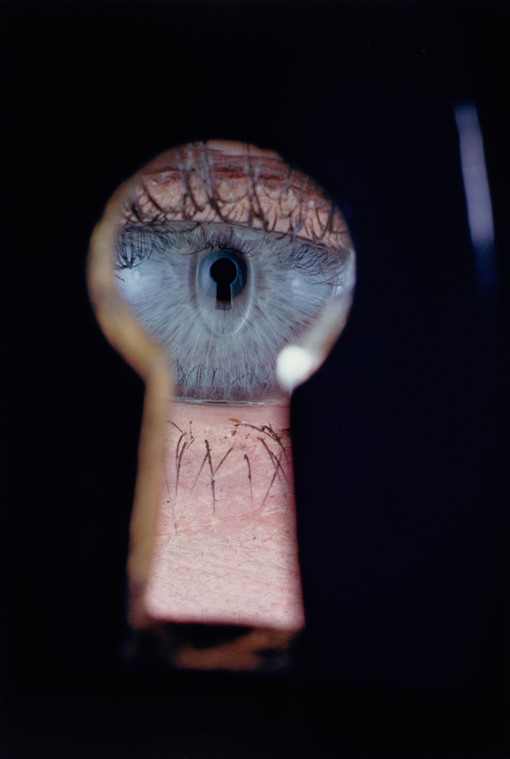 Eye in Keyhole , New York, 1953 Dye transfer print © Condé Nast
