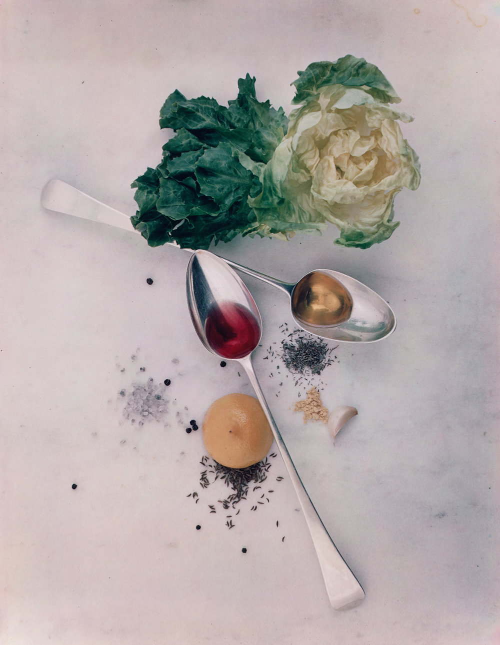 Salad Ingredients , New York, 1947 Dye transfer print © Condé Nast