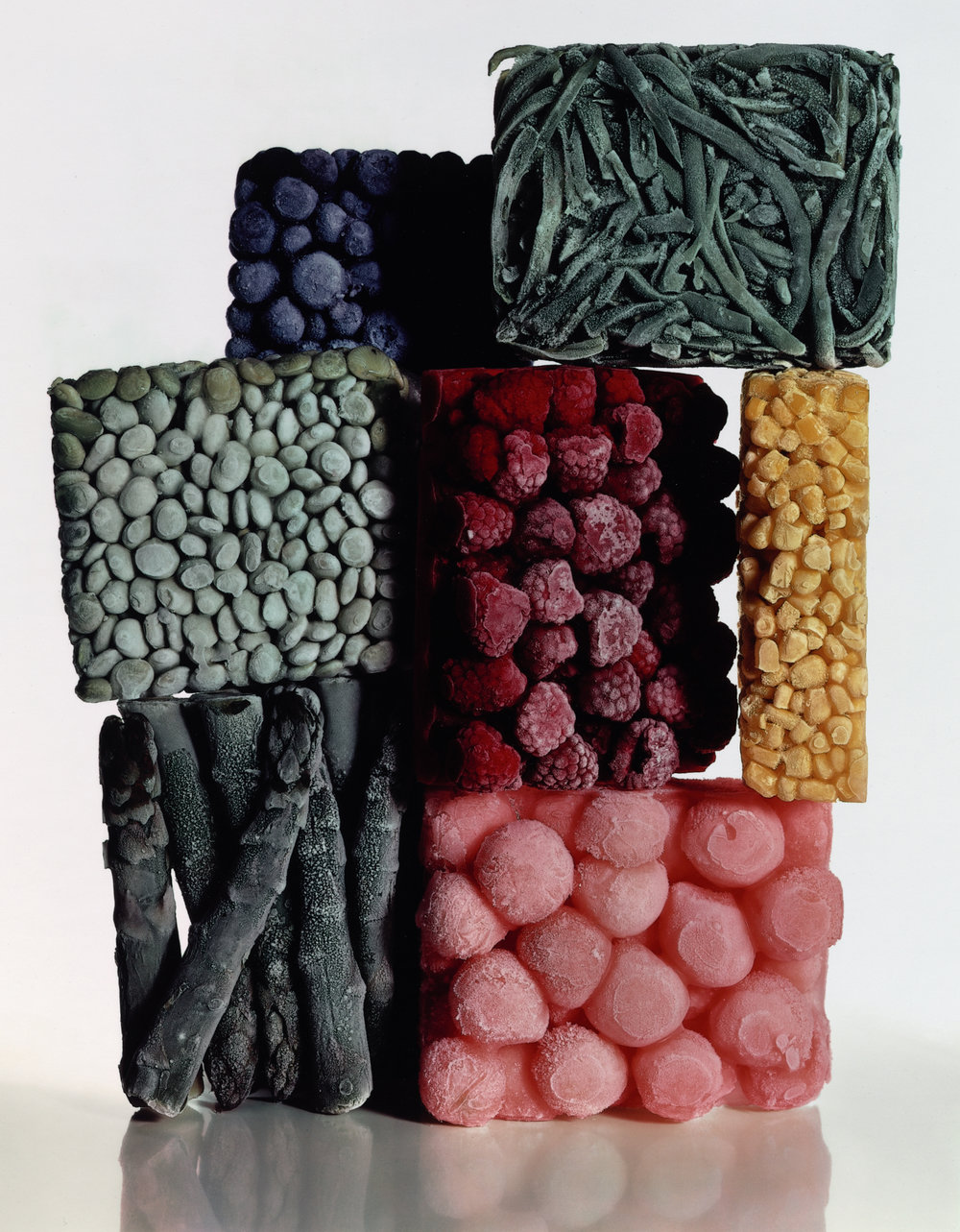 Frozen Foods with String Beans , New York, 1977 Dye transfer print © Condé Nast
