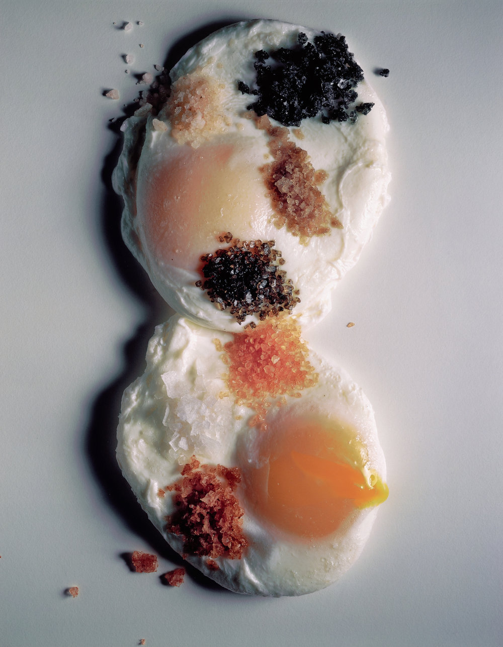 Poached Eggs and Salts , New York, 2001 Inkjet print © Condé Nast