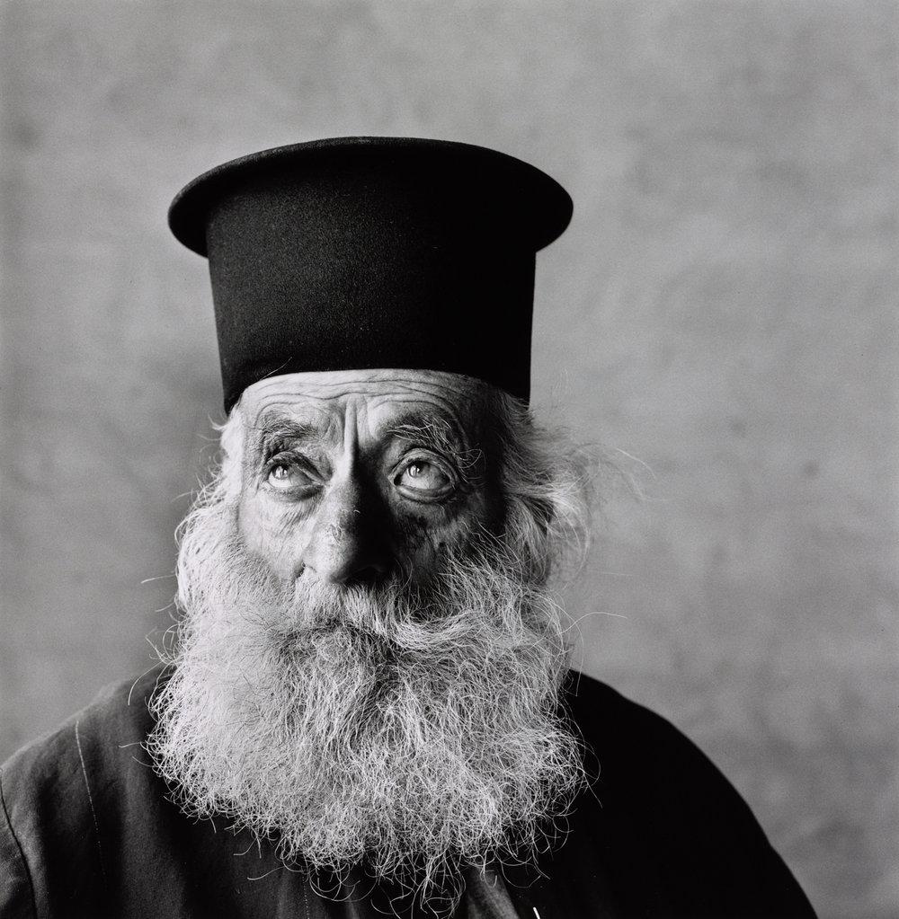 Cretan Priest , 1964 Gelatin silver print © Condé Nast