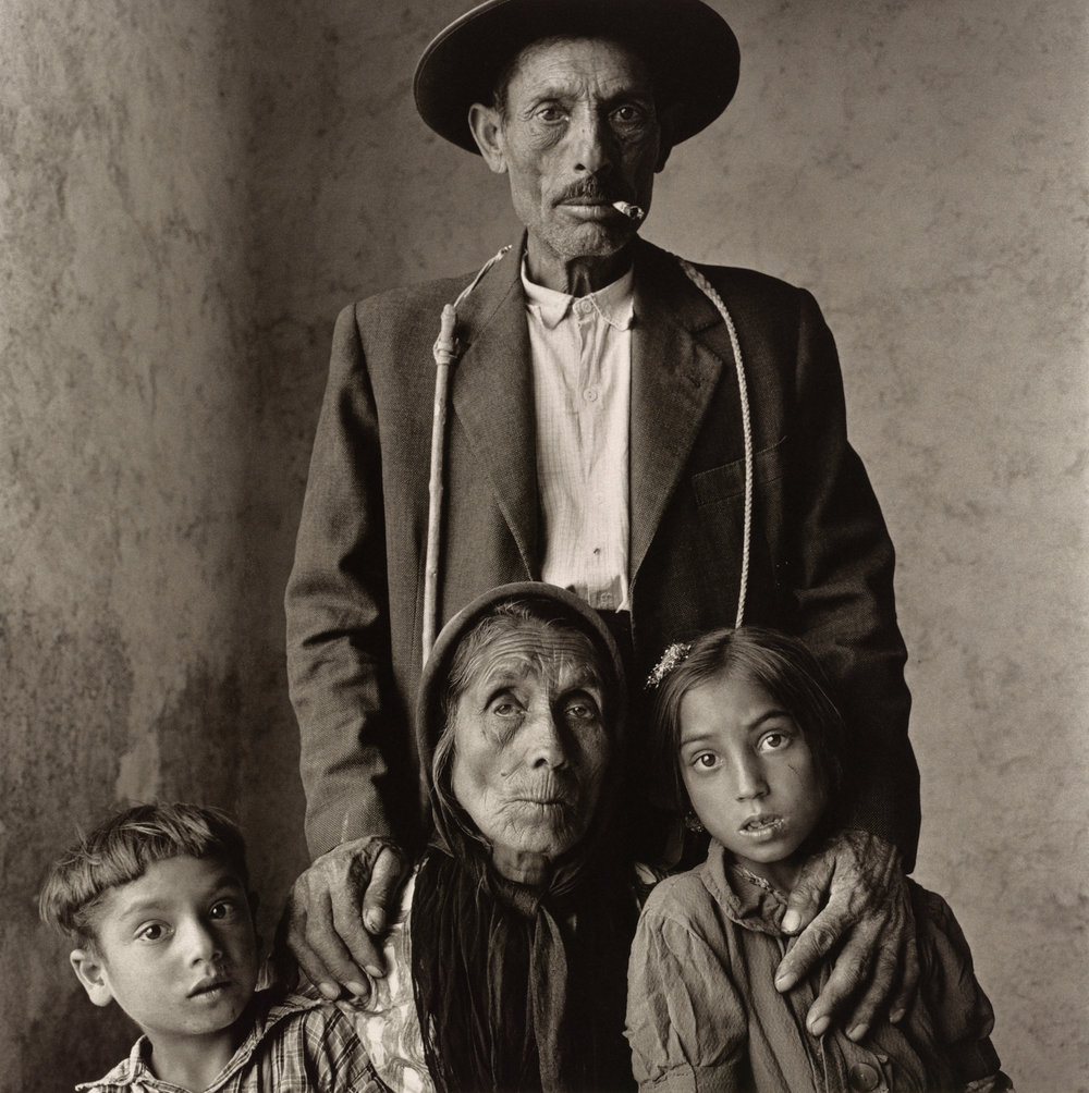 Gypsy Family , Extremadura, Spain, 1965 Platinum-palladium print © Condé Nast