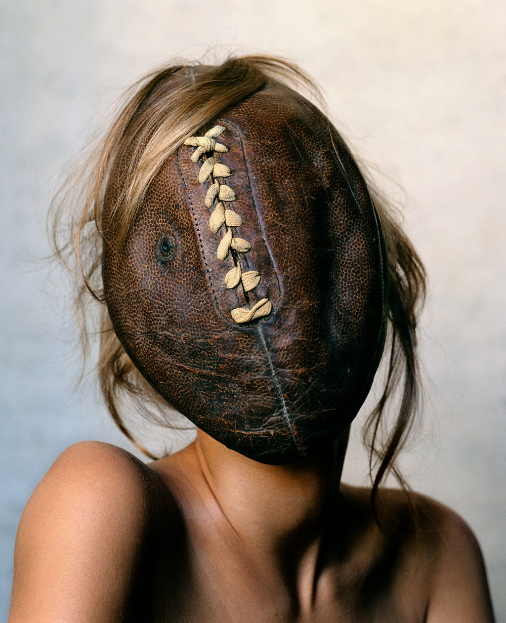 Football Face , New York, 2002 Chromogenic print © Condé Nast