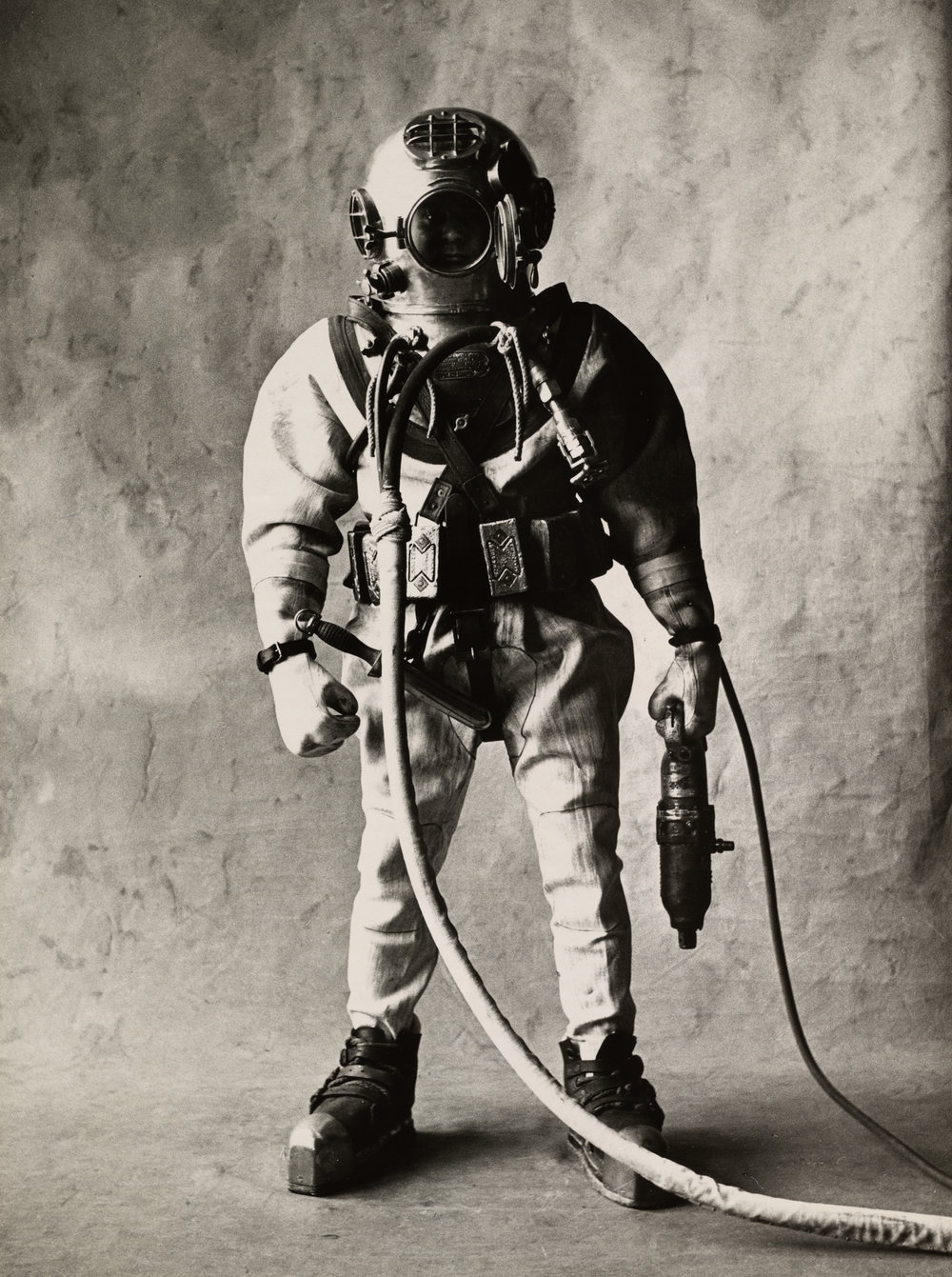 Deep-Sea Diver (A) , New York, 1951 Gelatin silver print © The Irving Penn Foundation