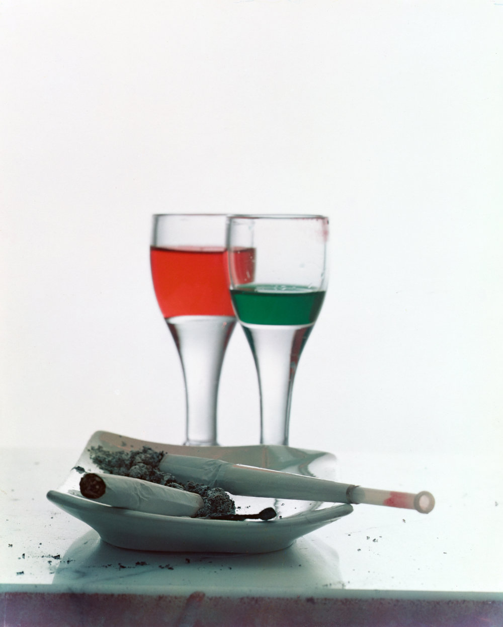 Two Liqueurs , New York, 1951 Dye transfer print © Condé Nast